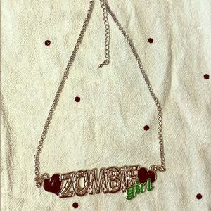 Punk costume necklace